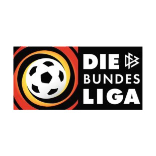 Bundesliga germany soccer league logo listed in soccer teams decals.