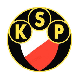 Polonia Warszawa soccer team logo listed in soccer teams decals.
