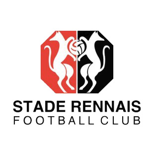 Stade rennais fc soccer team logo soccer teams decals - Logo stade rennais ...