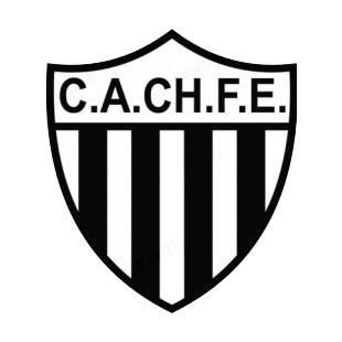 Club Atletico Chaco For Ever soccer team logo listed in soccer teams decals.