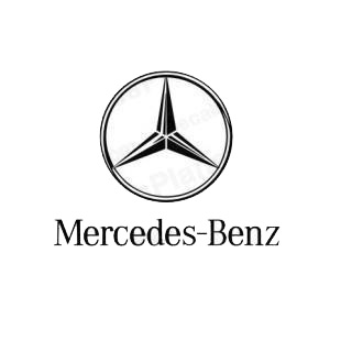 mercedes benz logo mercedes benz transport models decal