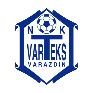 NK Varteks soccer team logo listed in soccer teams decals.