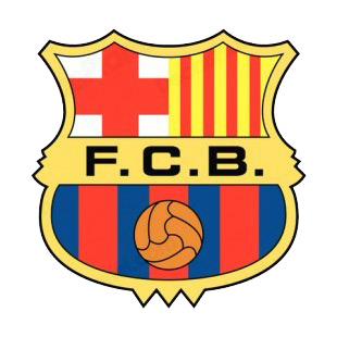 Fc Barcelona Stickers.Fc Barcelona Soccer Team Logo Soccer Teams Decals Decal