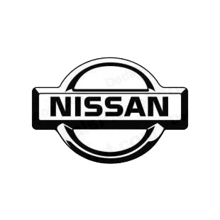 Nissan logo listed in nissan decals.