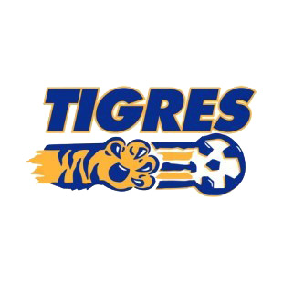 Tigres Soccer Team Logo Soccer Teams Decals Decal Sticker