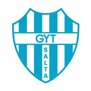 Gyt Salta soccer team logo listed in soccer teams decals.