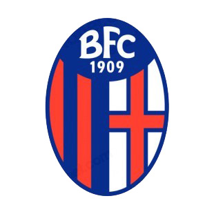 Bologna Fc 1909 Soccer Team Logo Soccer Teams Decals Decal Sticker 14380