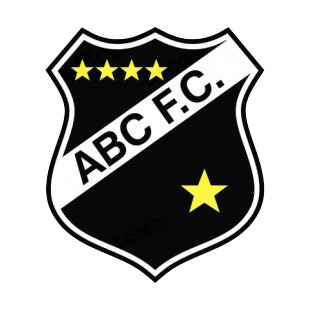 ABC FC soccer team logo listed in soccer teams decals.