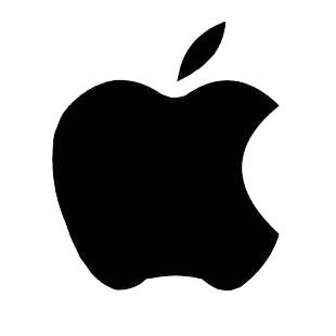 Apple macintosh logo mac decals, decal sticker #144