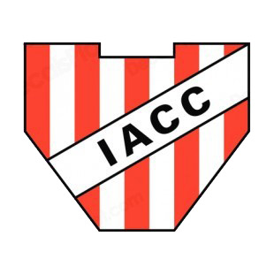 IACC soccer team logo listed in soccer teams decals.