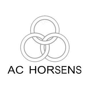 AC Horsens soccer team logo listed in soccer teams decals.
