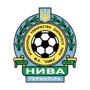 FC Nyva Ternopil soccer team logo listed in soccer teams decals.