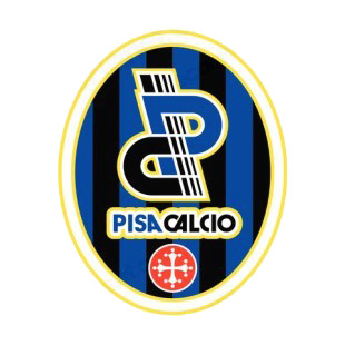 AC Pisa 1909 SSD soccer team logo listed in soccer teams decals.