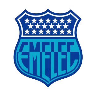 Club Sport Emelec soccer team logo listed in soccer teams decals.