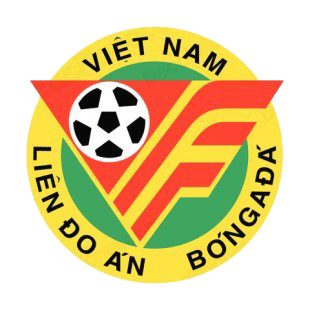 Vietnam Football Federation logo listed in soccer teams decals.