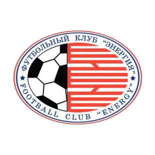 Football Club Energy soccer team logo listed in soccer teams decals.