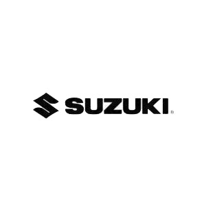 Suzuki logo listed in suzuki decals.