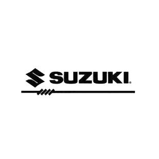 Suzuki logo listed in suzuki decals.