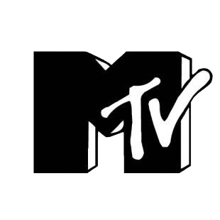 Mtv M TV logo listed in famous logos decals.