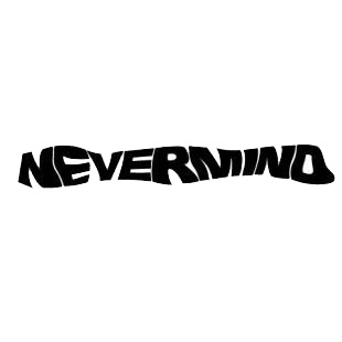Nevermind logo listed in famous logos decals.