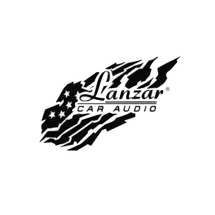 Car audio Lanzar listed in car audio decals.