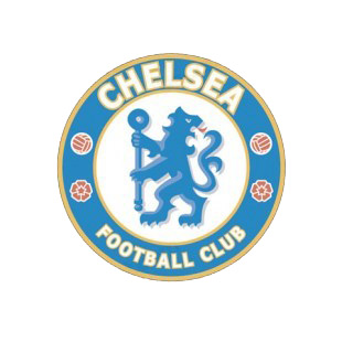 Chelsea football soccer club listed in soccer teams decals.