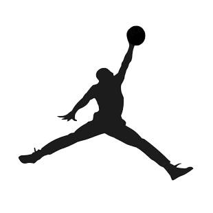 Michael jordan logo jumpman listed in soccer teams decals.