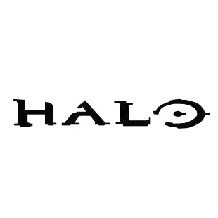 HALO Logo Listed In Famous Logos Decals