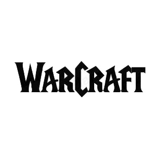 Warcraft logo listed in famous logos decals.