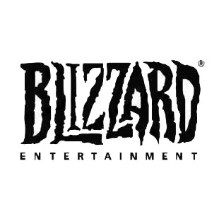 Blizzard entertainment logo listed in famous logos decals.