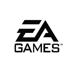 EA Games logo listed in famous logos decals.