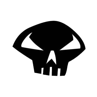 Punisher logo listed in famous logos decals.
