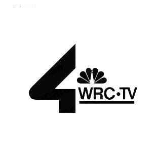 4 WRC TV Channel listed in famous logos decals.