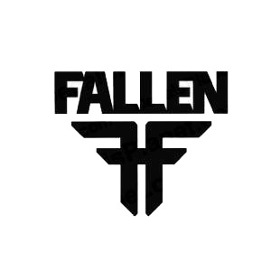 Fallen FF listed in skate and surf decals.
