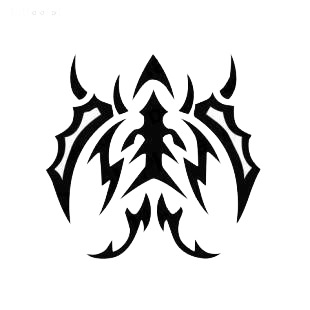 Tribal tatoo listed in other decals.