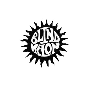 Blind Melon music band listed in music and bands decals.