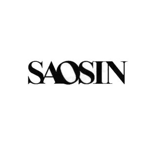 Saosin music band listed in music and bands decals.