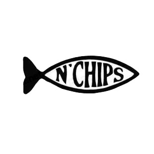 Funny Fish n Chips Evolution listed in funny decals.