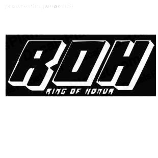 Wrestling ROH Ring of honor listed in famous logos decals.