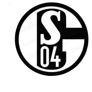 S 04 football team listed in soccer teams decals.