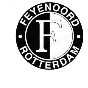 Feyenoord rotterdam football team soccer teams decals ...