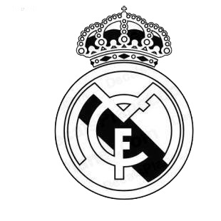 Real Madrid football team listed in soccer teams decals.
