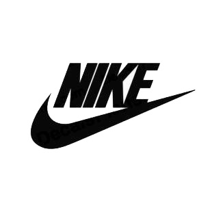 Nike swoosh listed in famous logos decals.