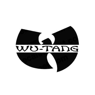 Wu Tang clan band music listed in music and bands decals.