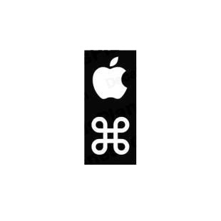 Mac Command Key 0.54 inches listed in mac decals.