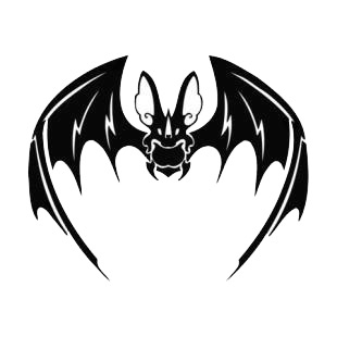 Bat listed in bats decals.