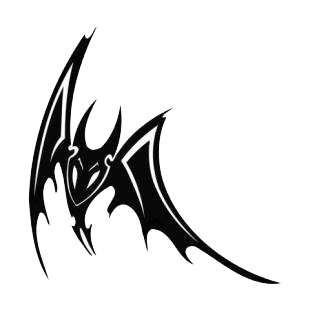 Angry bat listed in bats decals.