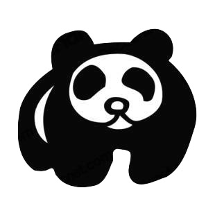 Panda listed in bears decals.