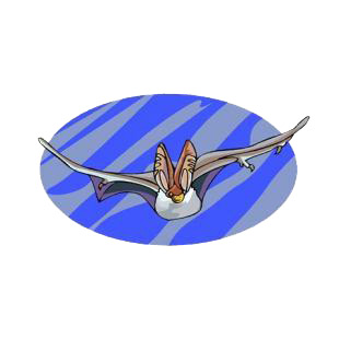 Flying bat listed in bats decals.