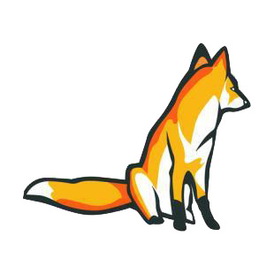 Fox listed in cats decals.